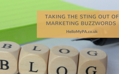 Taking the Sting out of Marketing Buzzwords